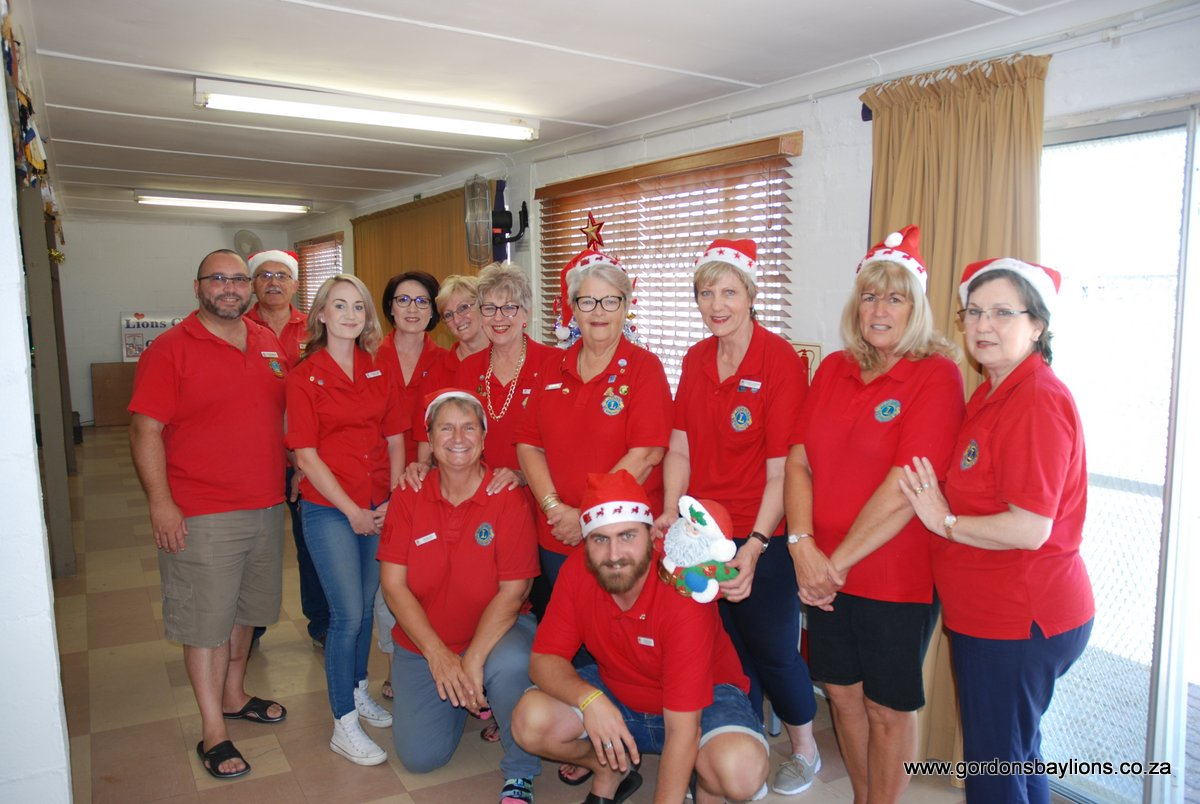Gordon's Bay Lions Club members