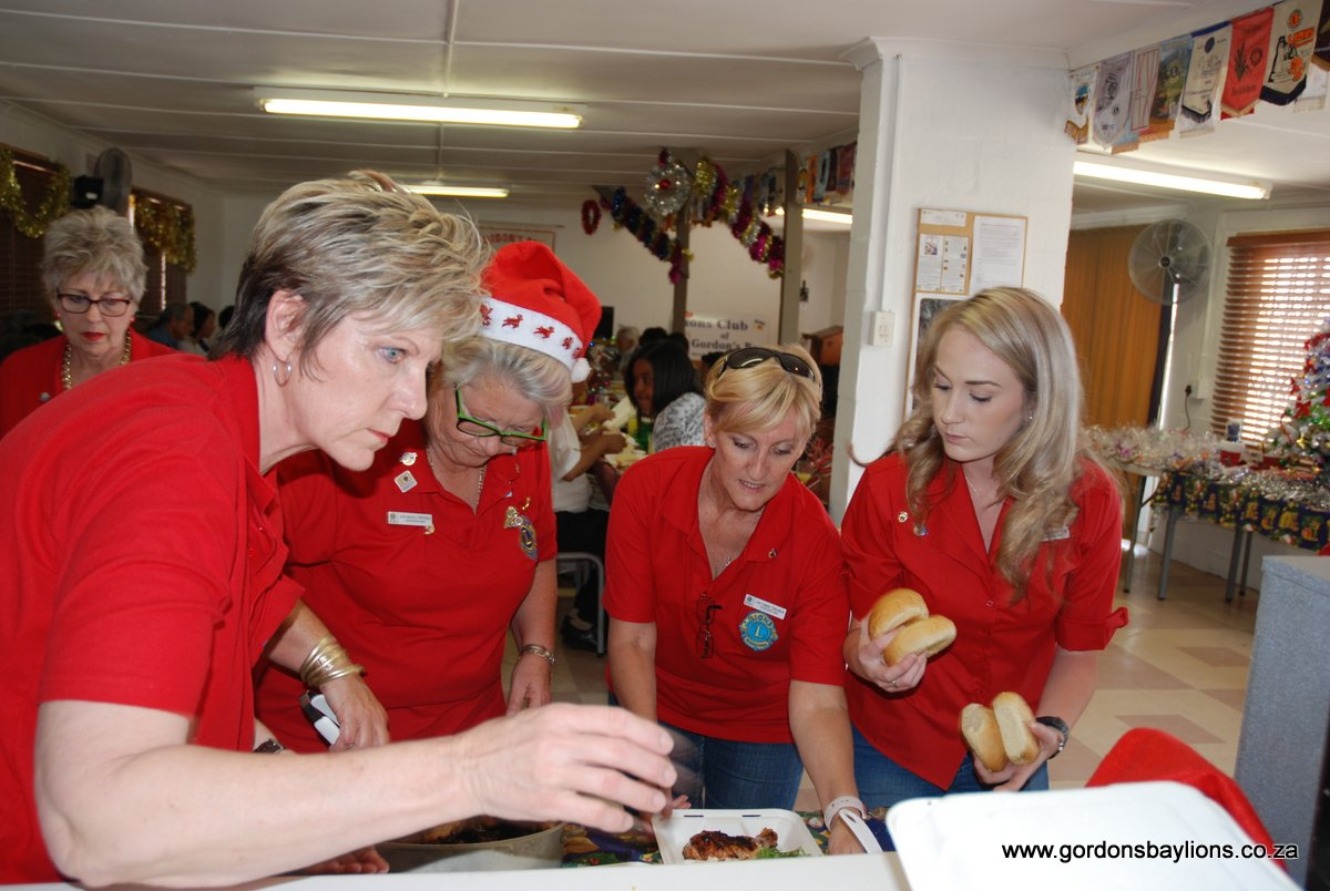 Gordons Bay Lions Seniors Christmas Lunch