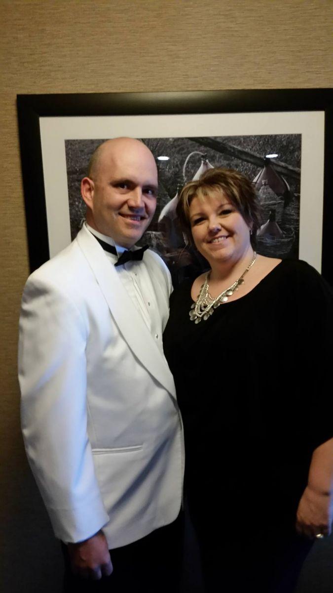DG Elect Steve Olsen and his wife Sylvie