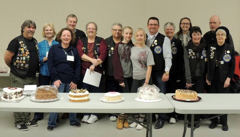 Some of our members and volunteers at the 2016 8th Annual Baking Contest