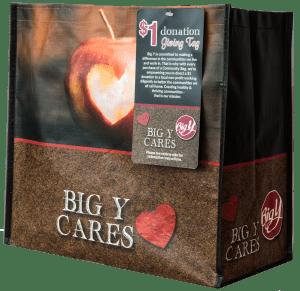 Big Y Cares bag