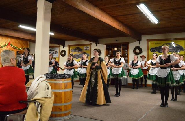 Stafford High School Madrigals perform