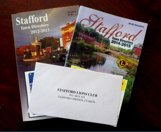 Past two Stafford Town Directories
