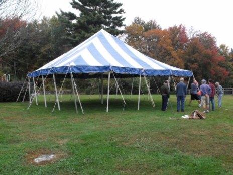 Half Tent Rental