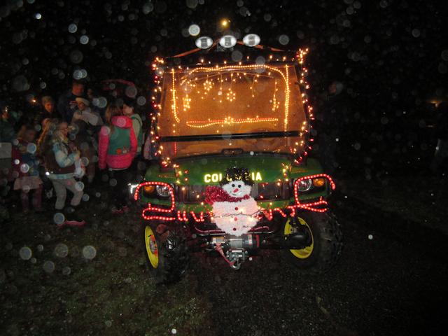 CFD ATV With Holiday Lights
