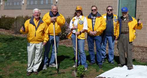 Golden Lions Celebrate Arbor Day with fairmont Elementary