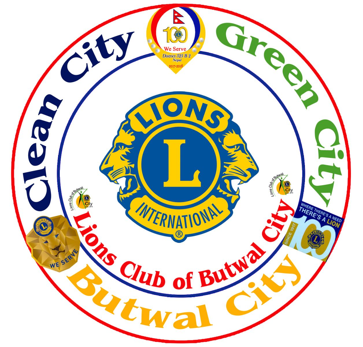 Clean City, Green City, Butwal City- Lions Club of Butwal City