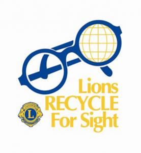 Lions Eyeglass Recycling Logo