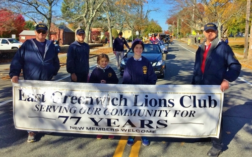 East Greenwich Veterans Day Parade 11/11/2016