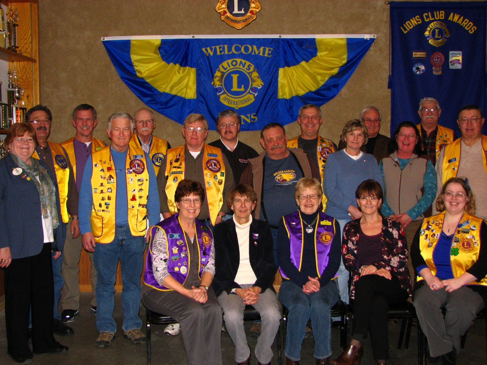 The Red Lake Falls Lions Club, January 2012