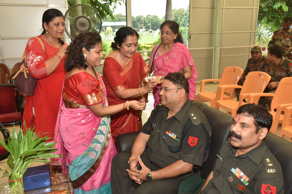 Raksha Bandhan With our Great Soliders