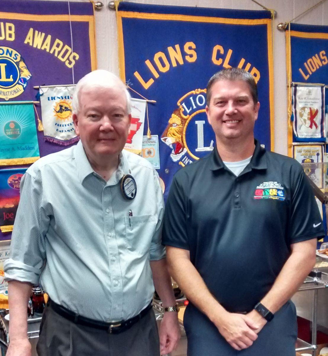 Jonesboro Parks and Recreation Director, Danny Kapalas