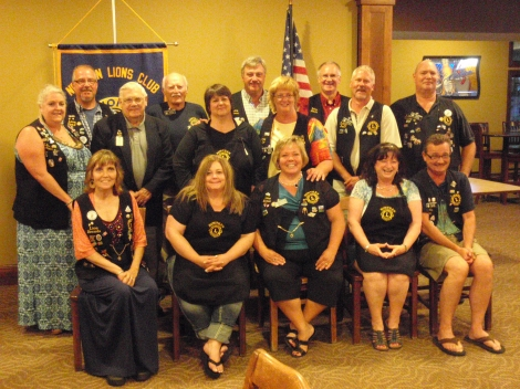 Nowthen Lions Club members