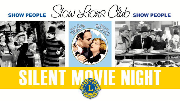 Stow Lions Springfest Silent Movie Night