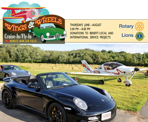 Wings and Wheels Event Series