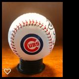 Cubs baseball signed by Ryne Sandberg & Ryan Dempster