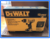 Dewalt Drill donated by Cambridge Ace Hardware