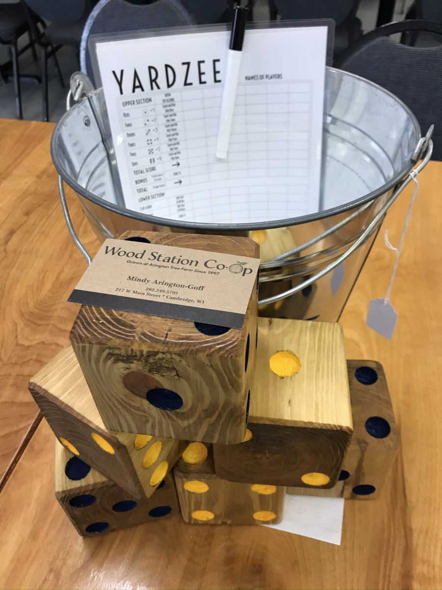 Hand-made wooden Yard Game valued at $60