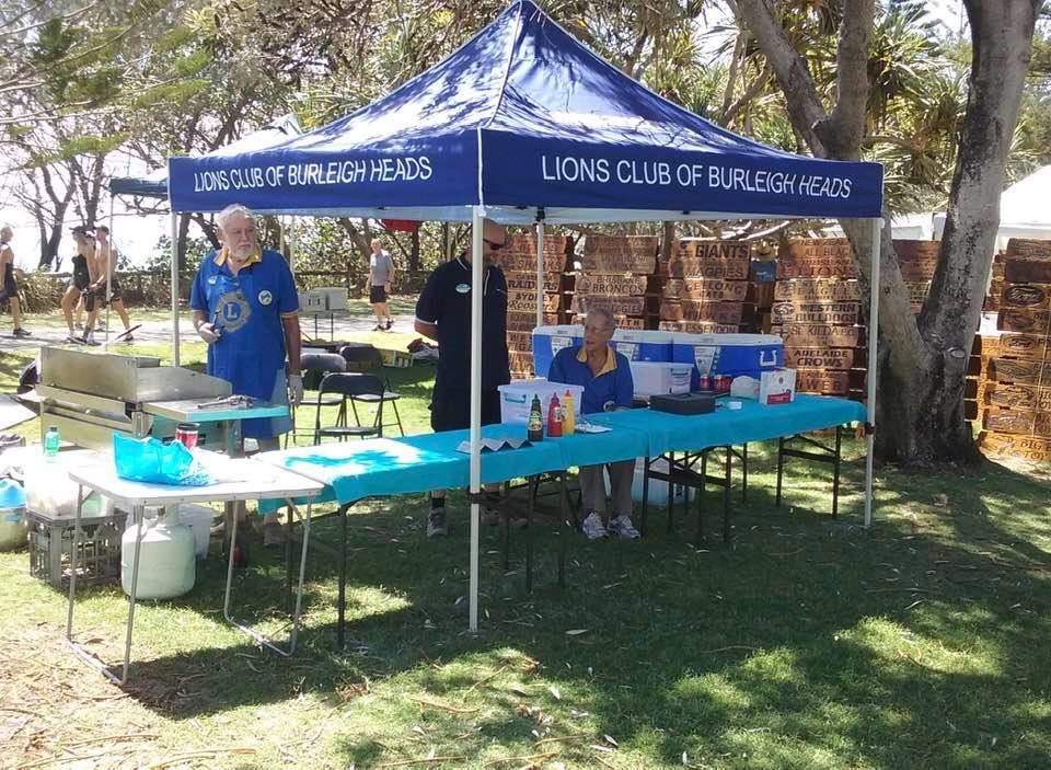 BURLEIGH LIONS BBQ at the Beachside Markets each month