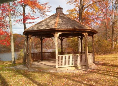 Gazebo at Echo Lake Park