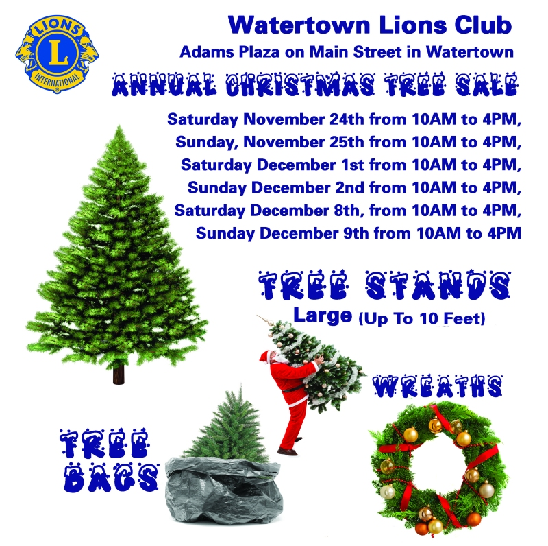 2018 Christmas Tree Sale