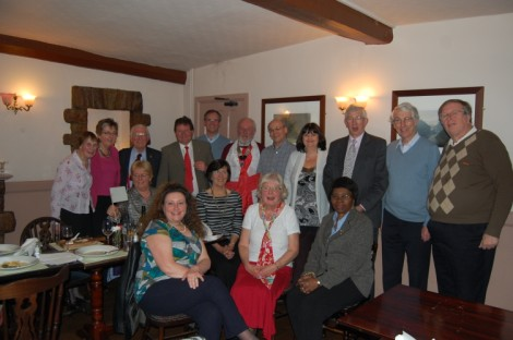 Bristol Brunel Lions and friends at their St George's Day celebrations!