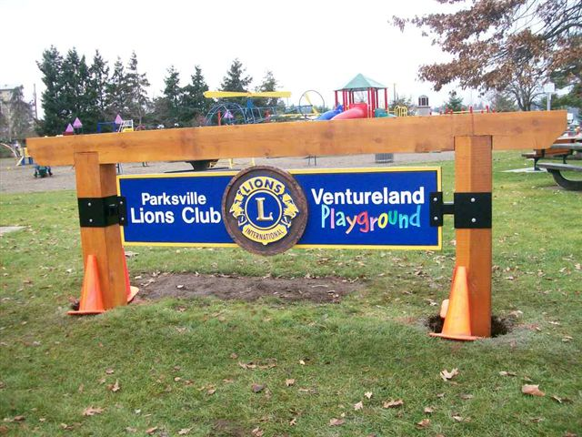 Lions Playground in Community Park