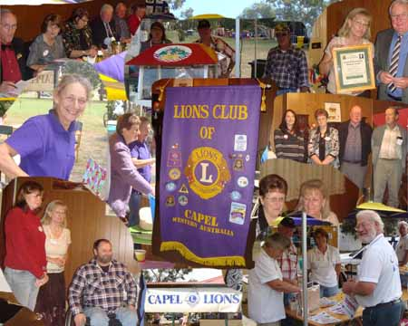Welcome to the Lions Club of Capel website which is currently under construction, please check back soon to see more about our club