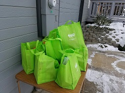 Green Bag Donations - Jan. 14th 2017