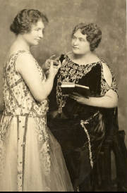 Helen Keller and Anne Sullivan circa 1924