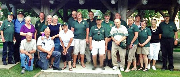 Members of Leavenworth Lions Club in Leavenworth Washington