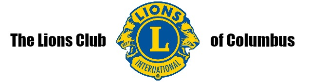 Columbus Lions Club logo