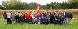 Pumpkins were loaded by a variety of folks on Saturday, Oct. 6, 2018.   The group of 40 included Mahtomedi Fire, Mahtomedi Hockey Team, Mahtomedi Archery and Trap Teams, River Valley Leo Lions, Boy Scouts and Wildwood Lions Club members.