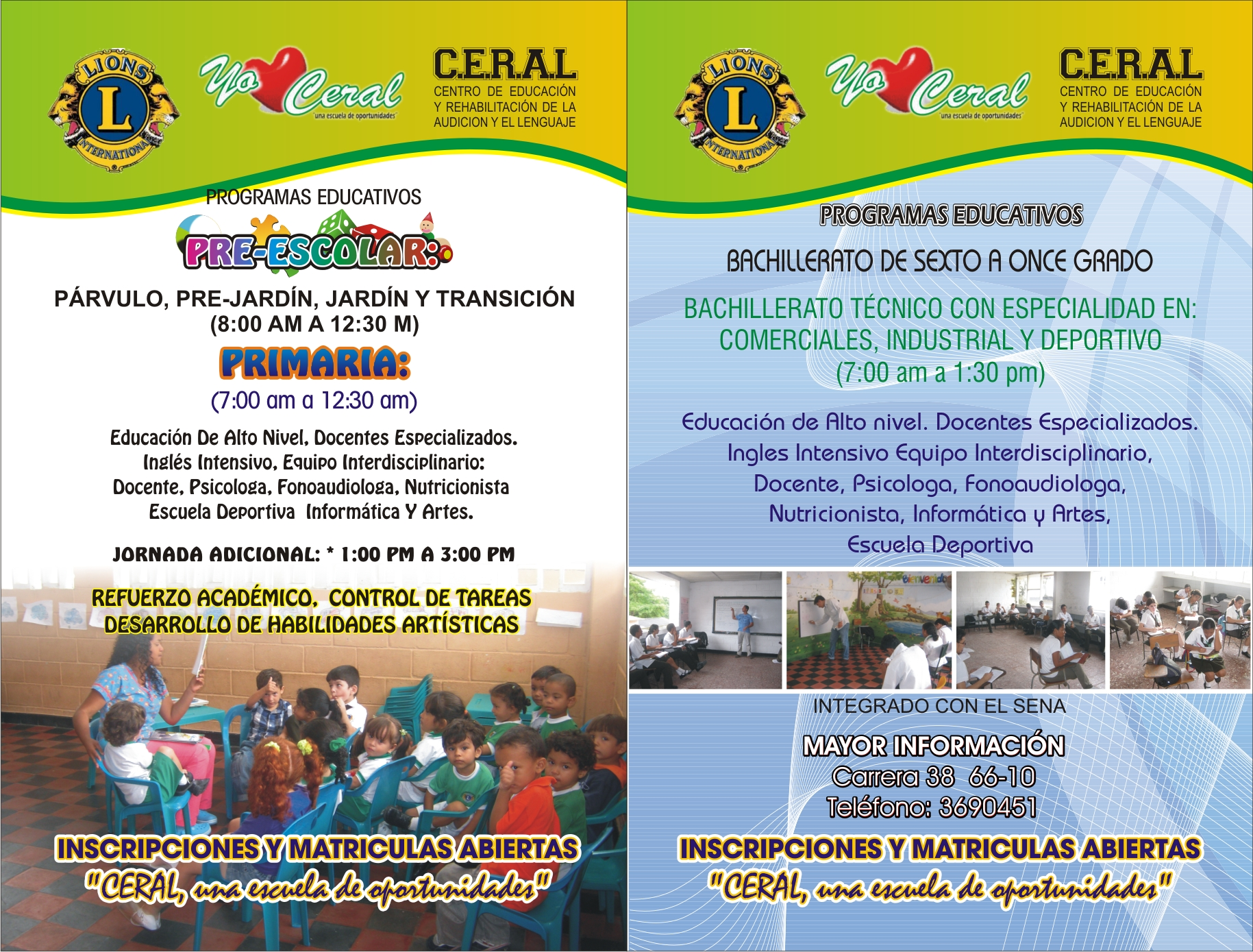 Centro de Educación y Rehabilitación de la Audición y el Lenguaje CERAL