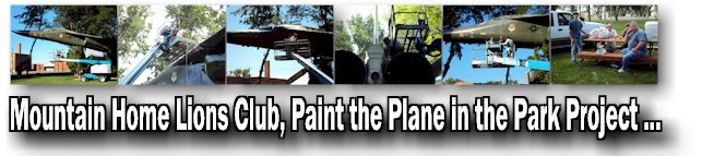 Mountain Home Lions Paint the Plane Project ...