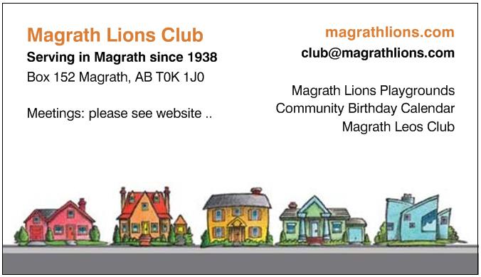 Magrath Lions Club Info