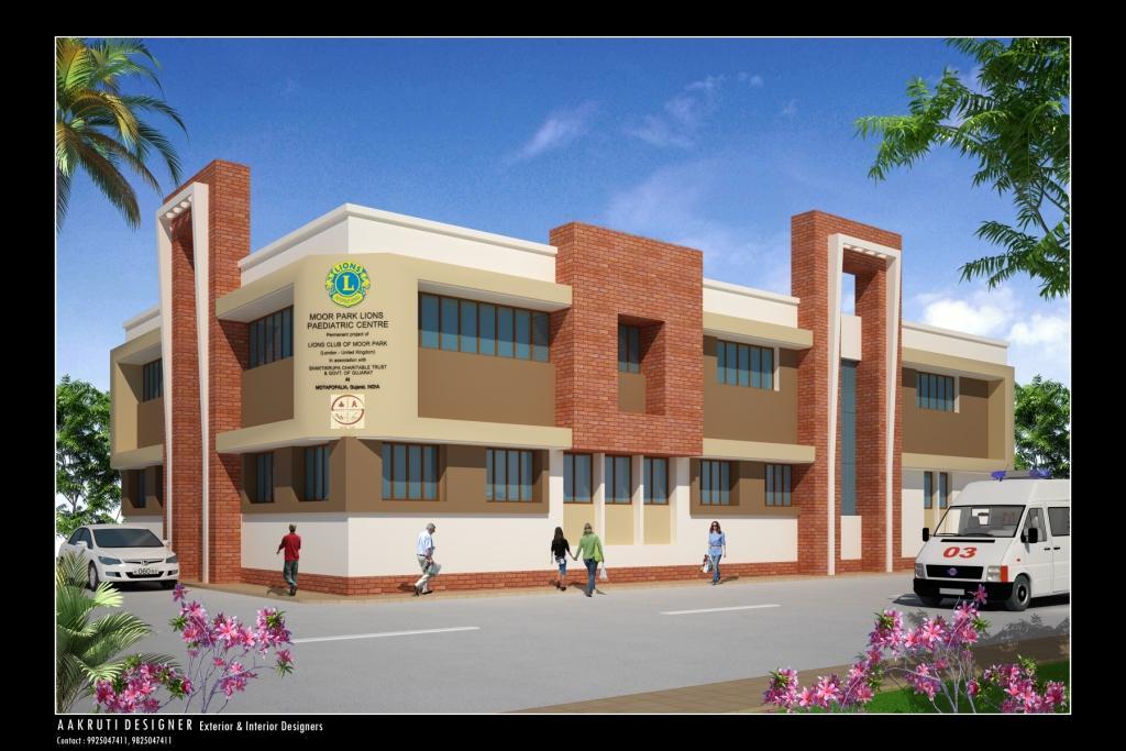 Moor Park Lions Pediatric Centre , Mota Fofalia, Baroda, India