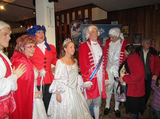 Groups that wouldn't normally have got to see a Pantomime - DID, thanks to the Swan Theatre and Worcester Lions