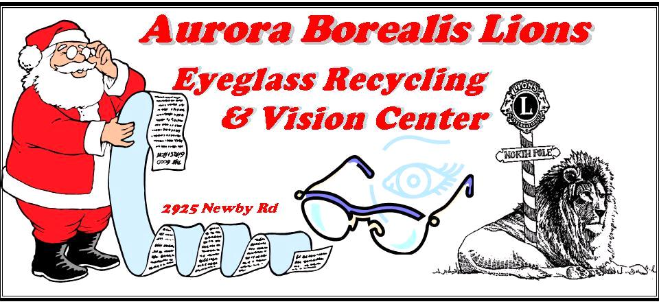 Aurora Borealis Lions Eyeglass Recyling & Vision Center