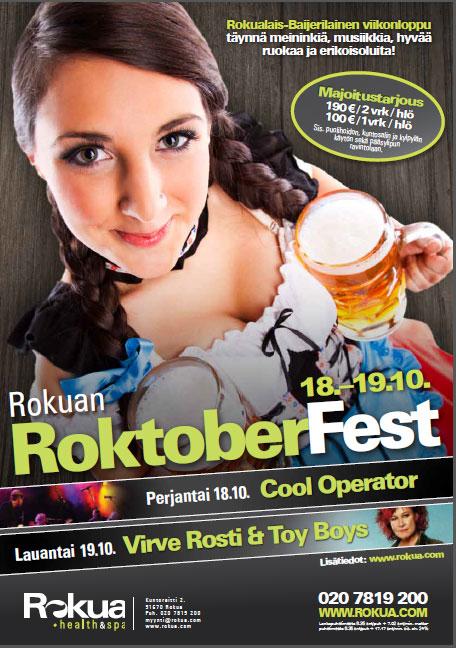 Rokualais-Baijerilainen viikonloppu täynnä meininkiä, musiikkia, hyvää ruokaa ja erikoisoluita!
