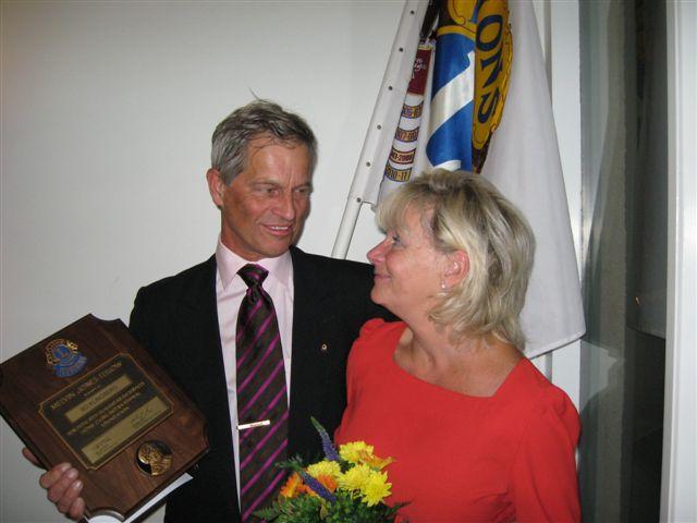Bosse Klinberg m hustru Marianne