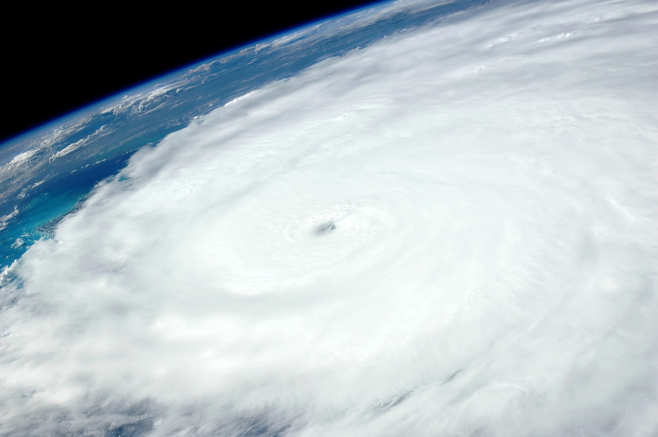 Picture of a hurricane