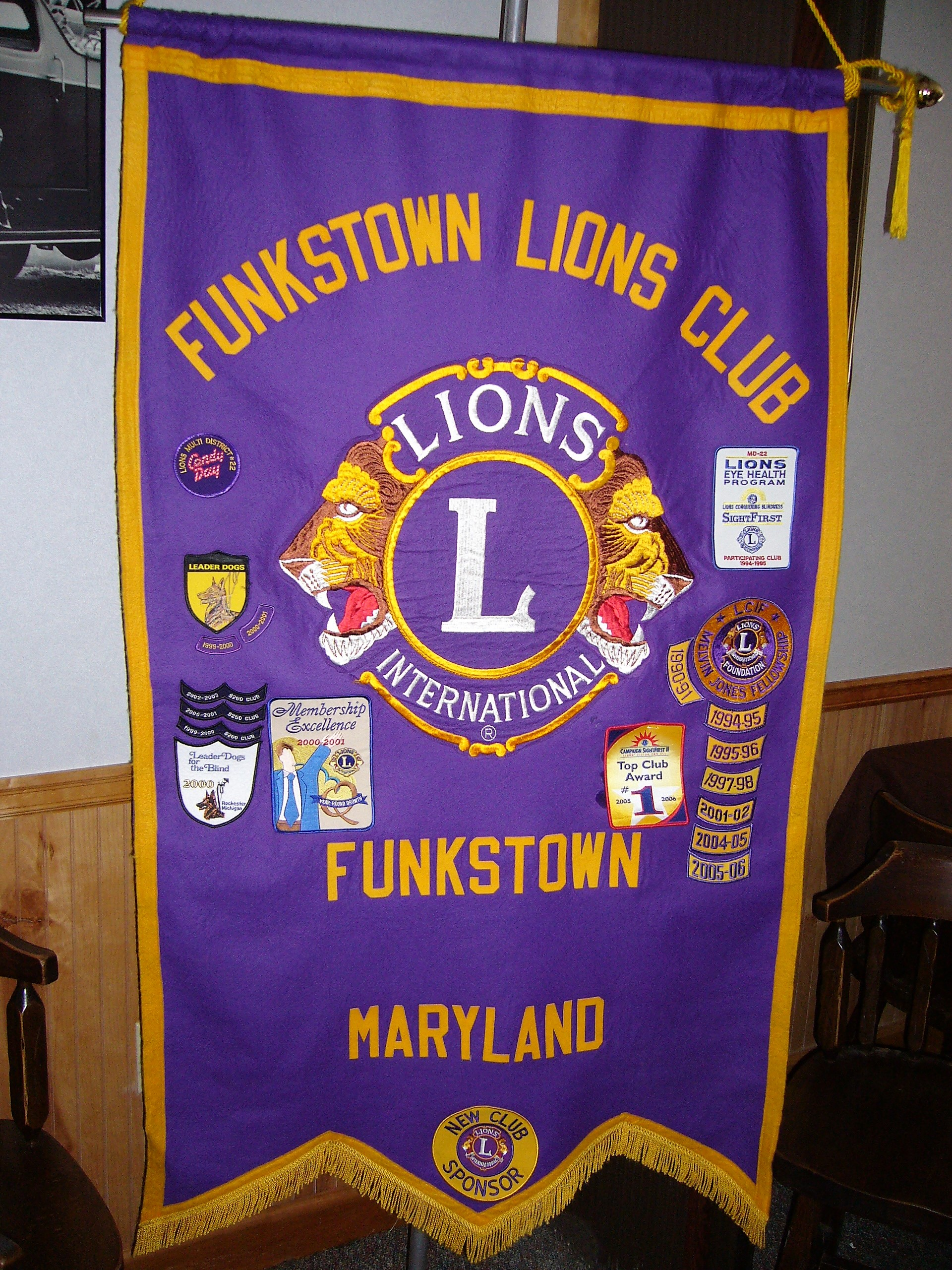 The Banner of the Funkstown Lions Club