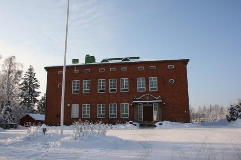 Lammin Turvan talo, jossa pidämme hallituksen kokoukset.