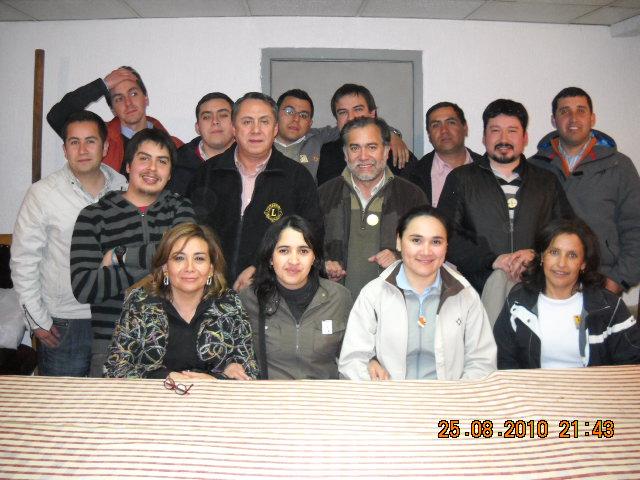Socios Club de Leones Chillán Bicentenario