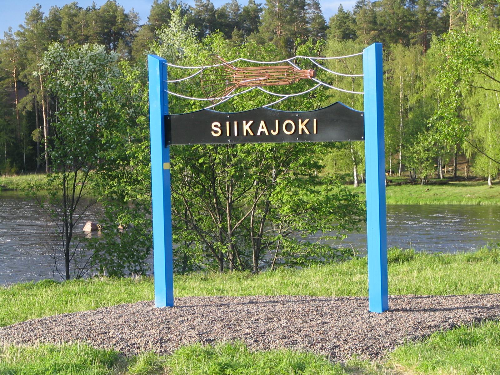 Mertapatsas Siikajoen varrella