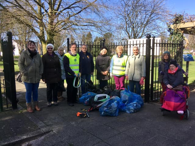 Lions After a Successful Litter Pick