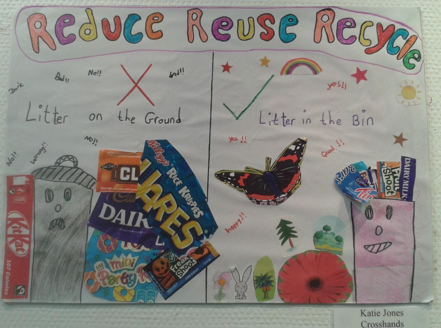 Winner Poster from Crosshands School