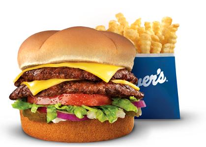 Burgers at Culvers