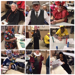 Great Night at our Halloween Bingo